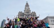students_in_front_of_the_famous_Liver_buildings